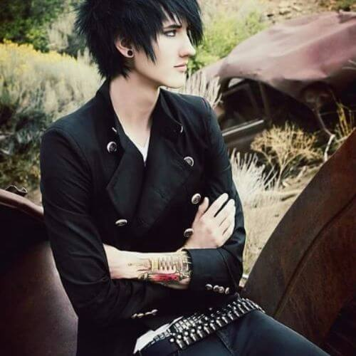 30 emo hairstyles for guys layered emo hairstyles for guys urmus Images