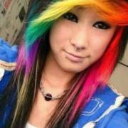 impressive long emo hairstyles