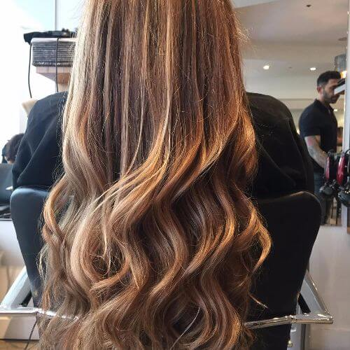 100 caramel highlights ideas for all hair colors dark brown hair with caramel highlights pmusecretfo Choice Image