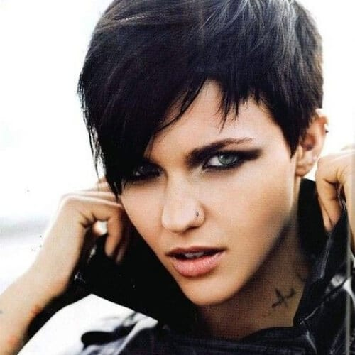 edgy pixie short layered hairstyles