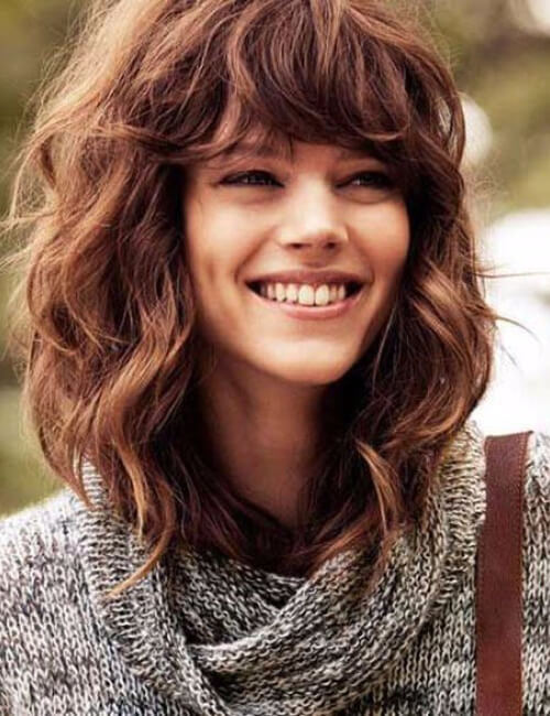 haircuts for curly hair with bangs 40 hairstyles for curly hair 3770