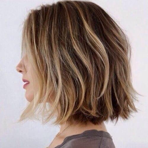Choppy Bob Haircuts with Highlights