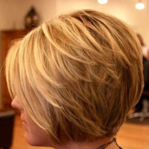 110 bob haircuts for all hair types my new hairstyles layered bob haircuts in honey blonde urmus Gallery