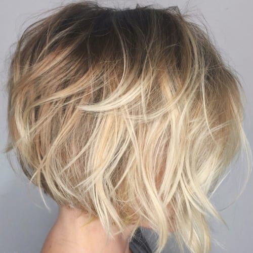 Messy Bob Hairstyles