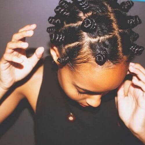 tight bantu knots