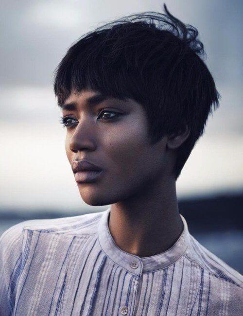 boyish charm short hairstyles for black women