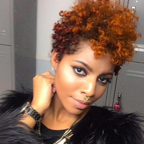 curly natural hairstyles