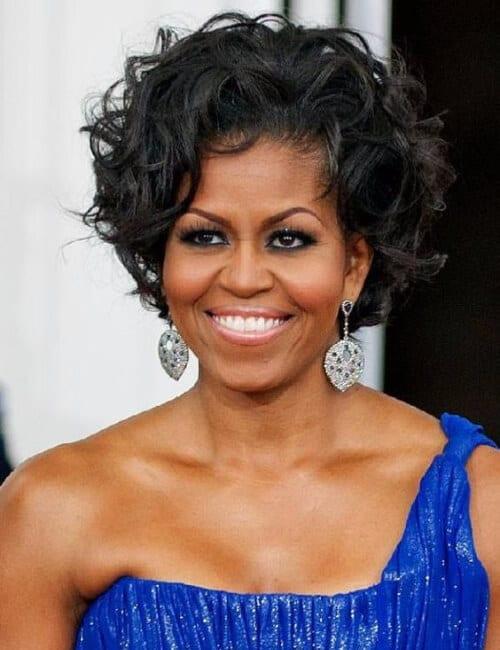 michelle obama short hairstyles for black women