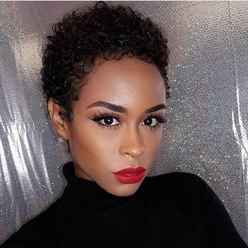 short black hairstyles for curly hair