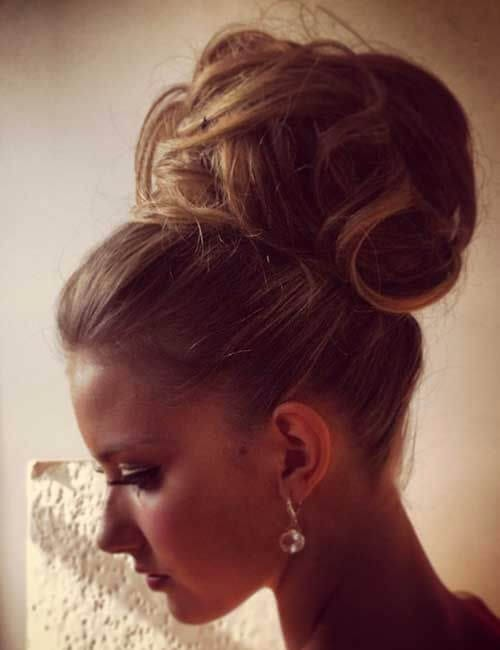 messy and formal updos for long hair