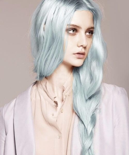porcelain mermaid hair