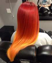 hottest ideas red ombre