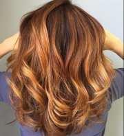 outstanding auburn hair color