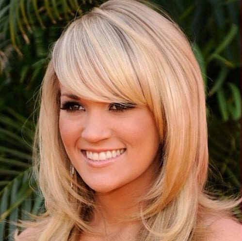 Long hairstyles with loose locks haircuts for round faces