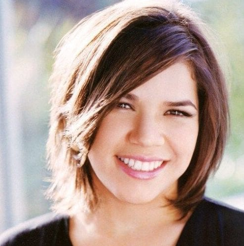 america ferrera haircuts for round faces