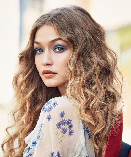 gigi hadid haircuts for round faces