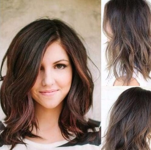 The Best 75 Haircuts For Round Faces My New Hairstyles