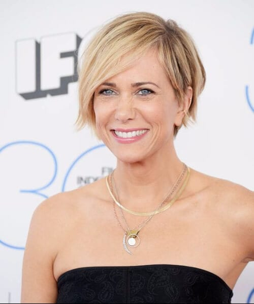 kristen wiig updos for short hair