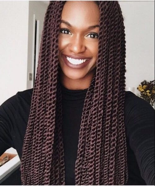 senegalese twist hair styles 50 ways to wear the senegalese twist my new hairstyles 9299