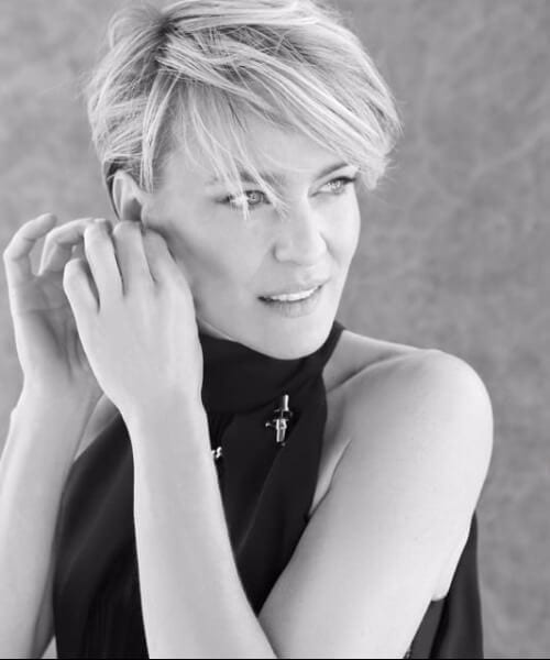 robin wright updos for short hair