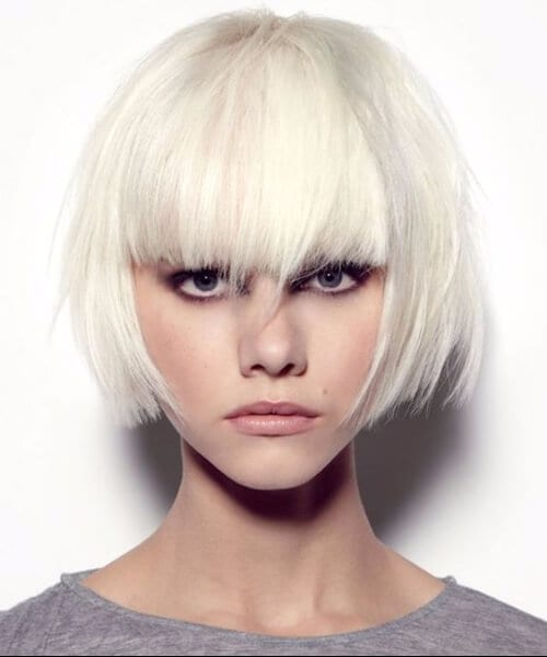 breathtaking bob short blonde hair