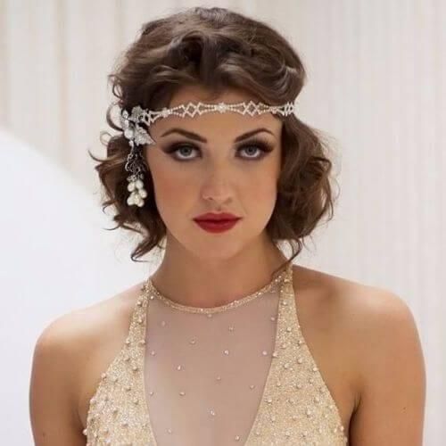 Wedding Updos Great Gatsby Bride
