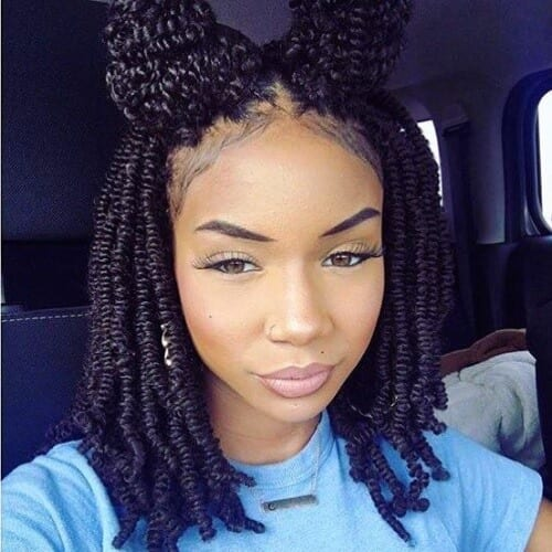 natural hair protective styles for black women
