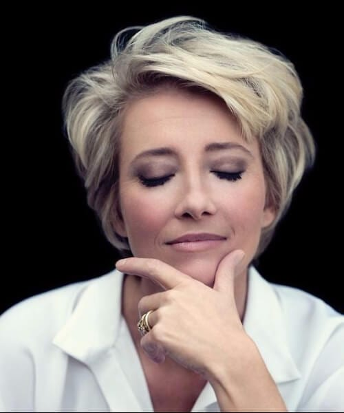 emma thompson short hairstyles