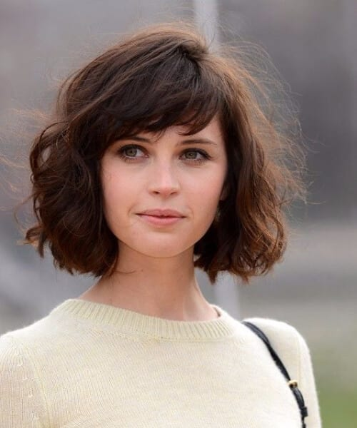 felicity jones short hairstyles
