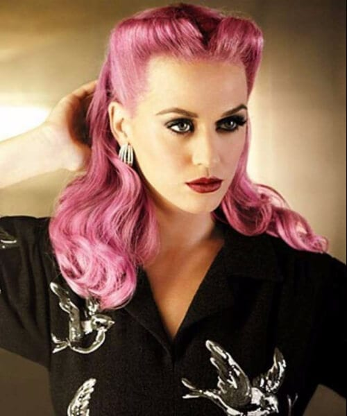 katy perry pin up hairstyles