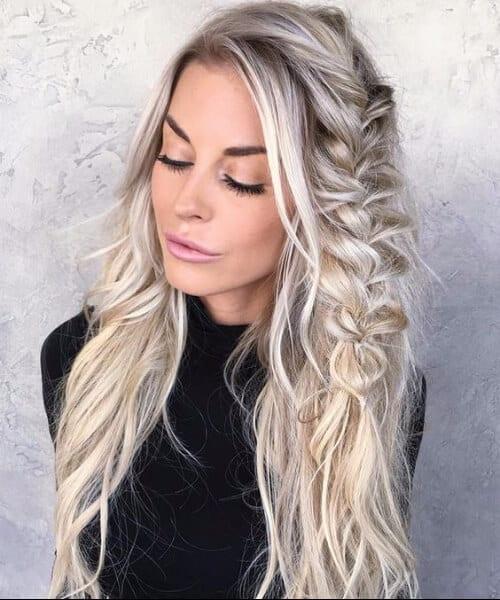Blond highlight for salt and pepper hair 50 spectacular for Www dreamhomes com