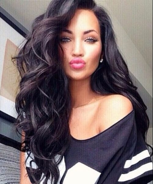 natural volume long hairstyles