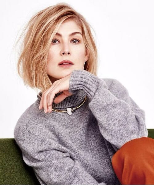 rosamund pike blonde hair