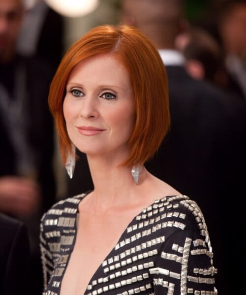 cynthia nixon hairstyles for women over 40
