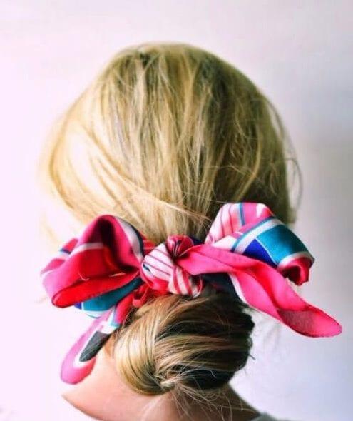 hair scarf hairstyles for thin hair