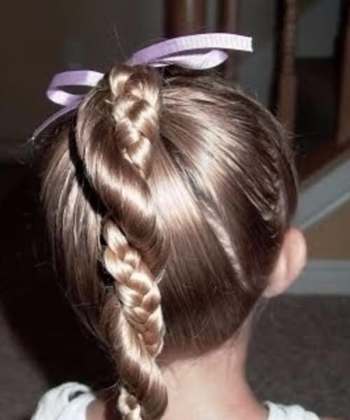 infinity braid little girl hairstyles