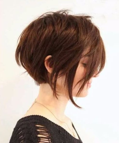 long bangs long pixie cut