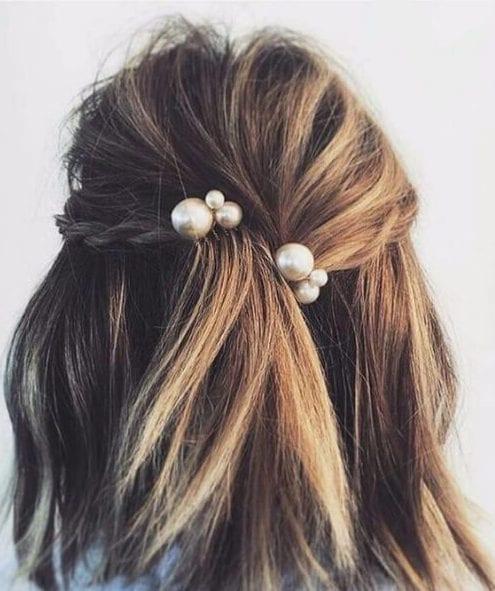 long choppy bob pearls hairstyles for thin hair