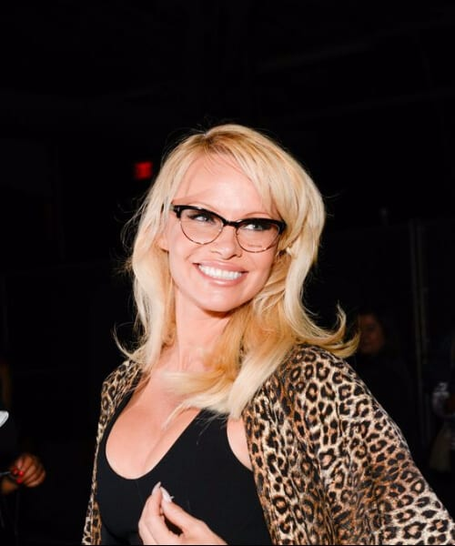 pamela anderson hairstyles for women over 40