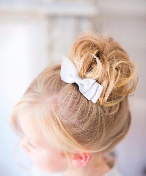 wedding inspiration little girl hairstyles