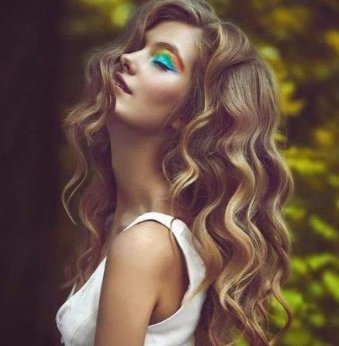 boho balayage color de pelo