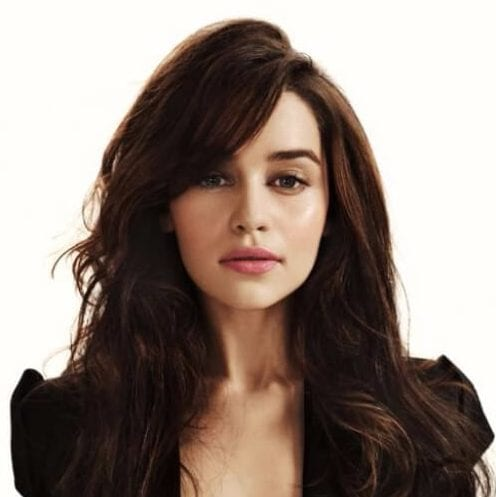 emilia clarke layered haircuts