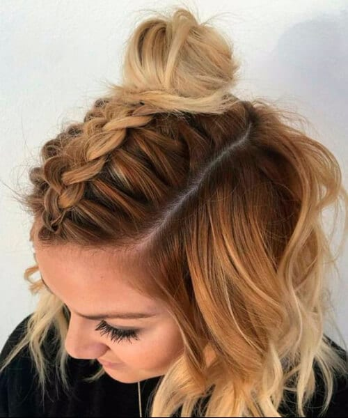 braid styles for medium length hair 50 fresh medium length hairstyles my new hairstyles 9787 | french braid medium length hairstyles