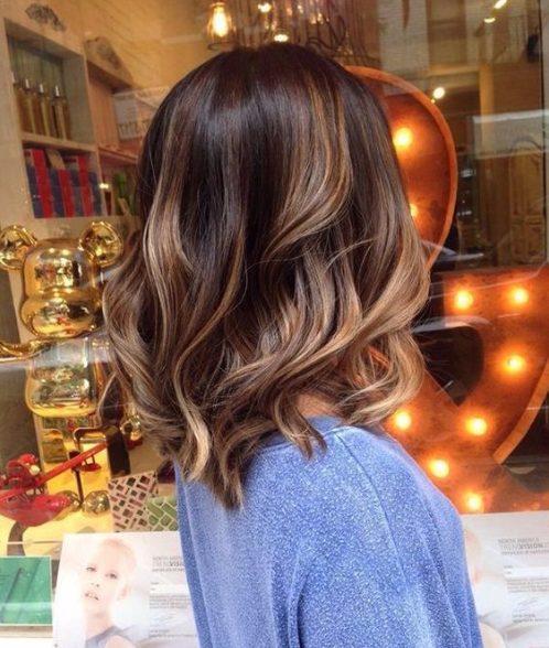 light almond balayage hair color