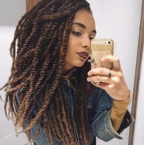 50 Cool Twists And Kinky Twist Hairstyles To Try Out My New