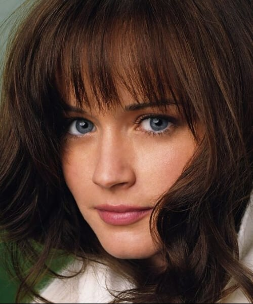 alexis bledel hairstyles with bangs