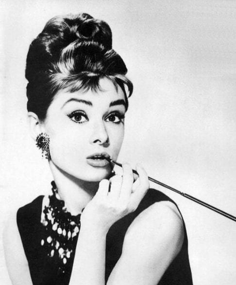 audrey hepburn hairstyles with bangs