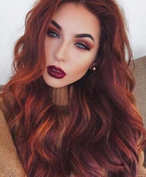 autumn sunset fall hair colors