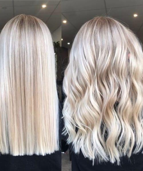 chai blonde balayage
