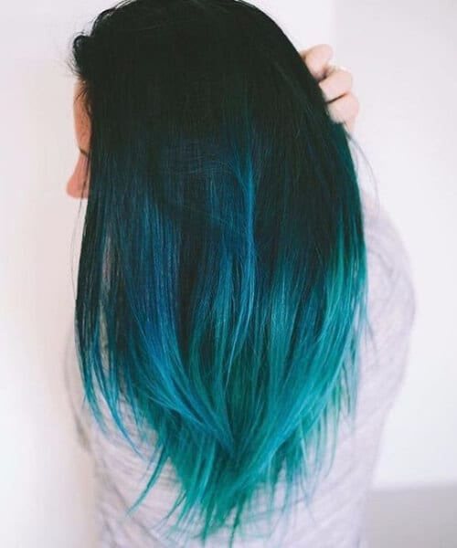 50 refreshing teal hair color ideas my new hairstyles cold ombre blue teal hair color urmus Images